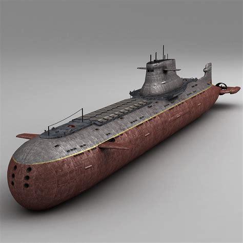 Submarine Interior 3d Model