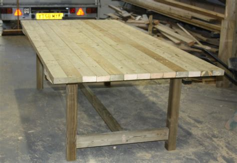 Workshop Tables by Garden Tables The Wooden Workshop Oakford