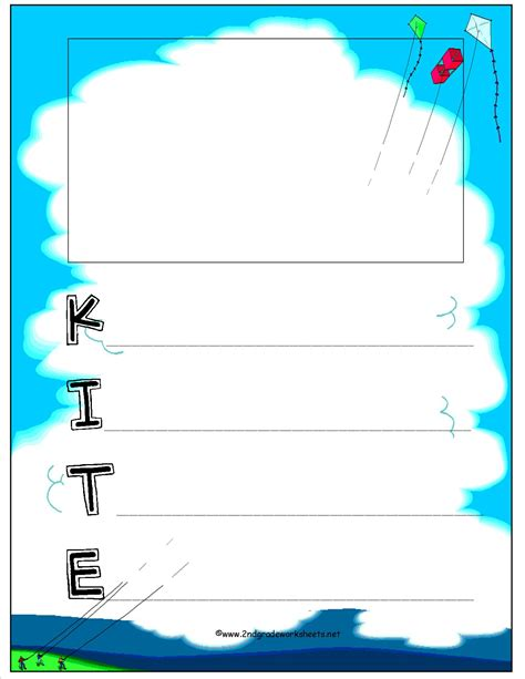 free kite poem template clipart best