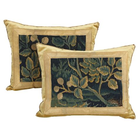 Tapestry Pillows For by Pair Of Antique Tapestry Pillows For Sale At 1stdibs