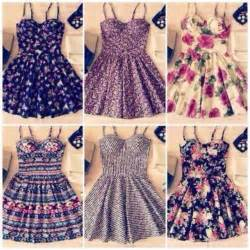 dress cute dress floral dress romantic patterns