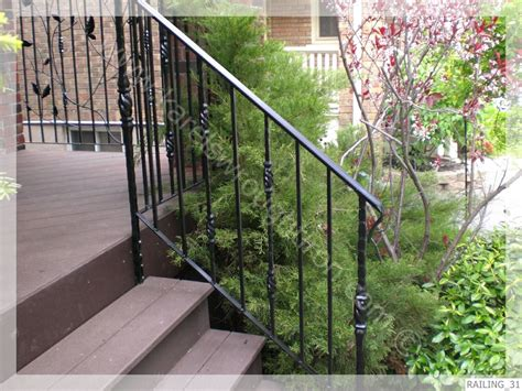 Wrought Iron Handrail Wrought Iron Railing Railing 31 Jpg
