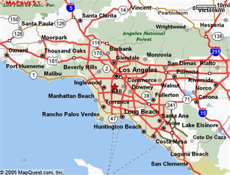 southern california highway map printable road map southern california quotes