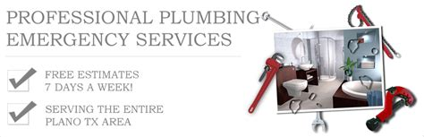 Plumbing Services Plano Tx by Plano Emergency Plumber 24 Hour Plumbing And Plumbers