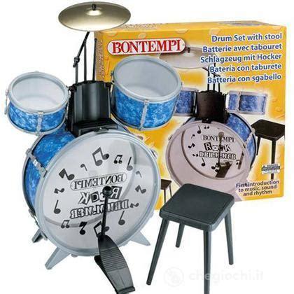 sgabello batteria batteria con sgabello batterie e percussioni bontempi