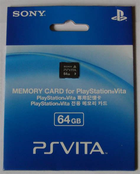 Ps Vita Memory 64gb accessories 64gb memory card ps vita vita player the one stop resource for ps vita owners