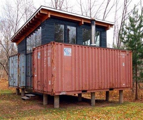 shipping container cabin shipping container homes hive modular holyoke corten cabin minnesota container home