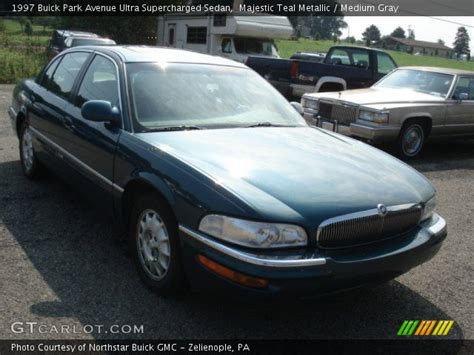 1997 buick park avenue ultra supercharged majestic teal metallic 1997 buick park avenue ultra