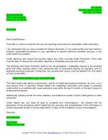 Credit Report Dispute Letter Template Credit Report Dispute Letter Best Business Template