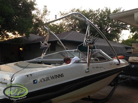 chaparral boats vs four winns wakeboard tower boat tower waketower speakers pontoon