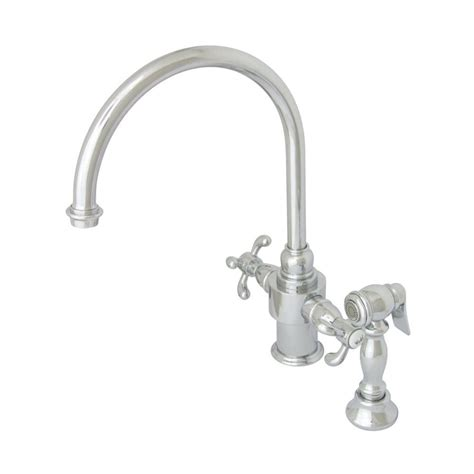 french country kitchen faucets shop elements of design french country chrome 2 handle
