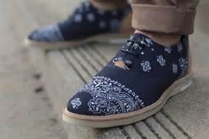 bandana shoes bandana navy soletopia