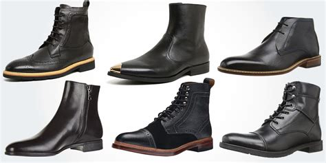 best black boots mens 18 best black leather boots for modern casual
