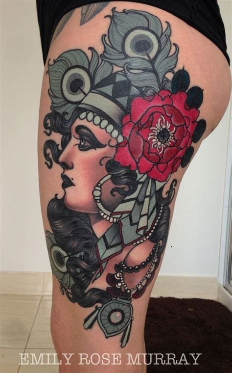 emily rose tattoos by emily murray tattoos style