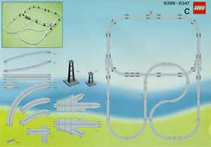 lego monorail extension instructions 6347