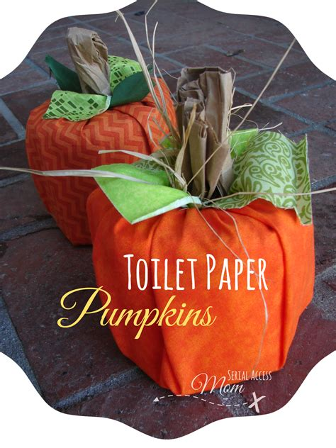 Paper Crafts For Seniors - autumn crafts toilet paper pumpkins easy and to