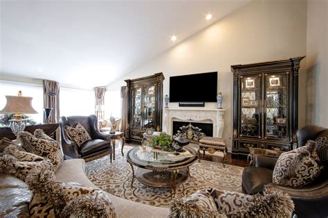 ways  create  luxurious living room linly designs