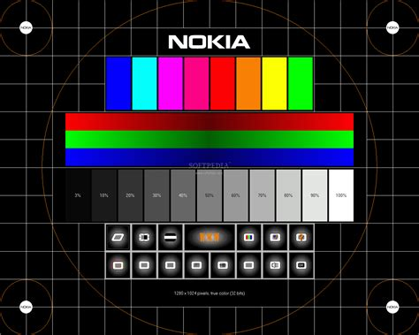quick pattern test nokia monitor test download