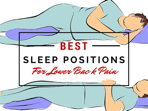 Comfortable Sleeping For Lower Back by The Best Sleep To Fix Your Lower Back