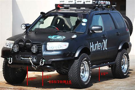 modified subaru forester off road hi all you offroad frosties page 3 subaru forester