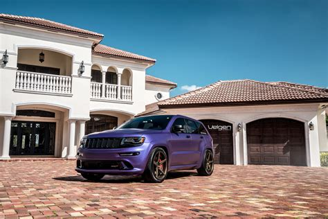 purple jeep grand velgen wheels plum jeep srt 8 srt hellcat forum