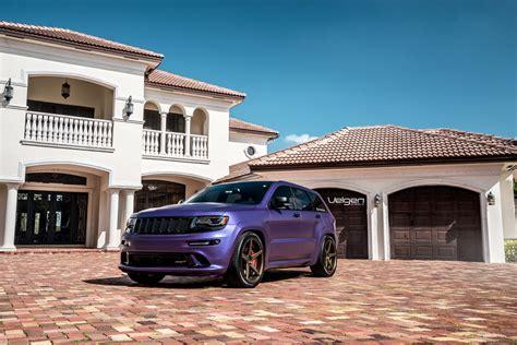 purple jeep grand cherokee velgen wheels plum jeep srt 8 srt hellcat forum