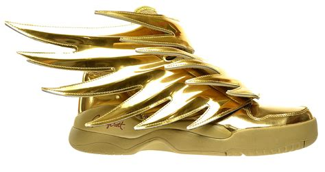 Gold Shoes by Adidas Js Wings 3 0 Gold S Shoes Gold Metallic B35651