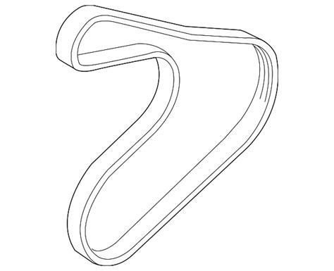 Belt Ac Hyundai Accent serpentine belt hyundai 25212 2b030