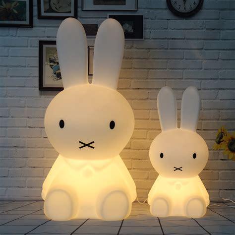kids night light l white rabbit night light