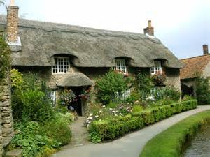 thatched cottage by bluetracker on deviantart
