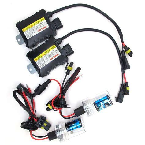 Lu Hid 55 Watt 55w xenon hid kit car auto headlight bulb slim ballast h1