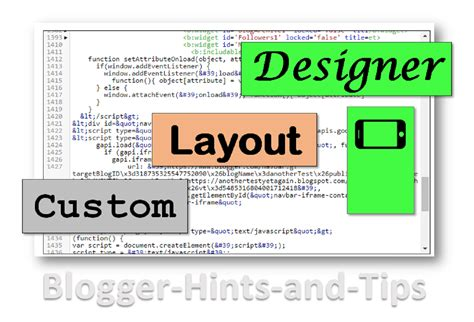 blog layout type artisteer types of blogger template theme blogger hints and tips