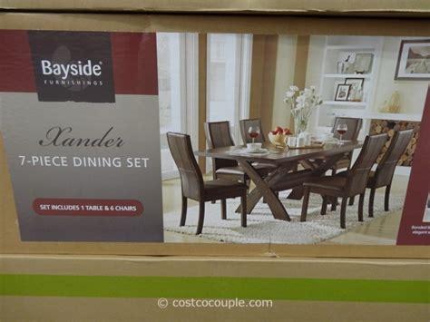 bayside furnishings xander  piece dining set