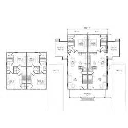 Duplex Building Plans Gallery For Gt Duplex Floor Plans