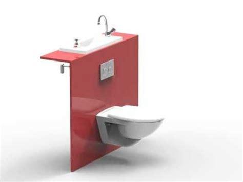 Wc Mit Integriertem Bd by Wici Bati 174 Les Toilettes Suspendues Avec Lavabo Int 233 Gr 233