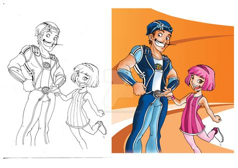 lazy town painting lazy town go by chocolerian on deviantart