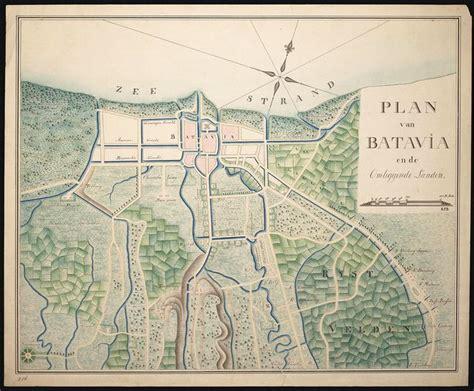Peta Antik Batavia Jadoel 7 best images about batavia on east