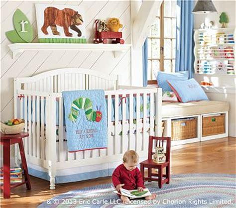 Eric Carle Crib Bedding The Hungry Caterpillar Nursery Bedding Set Pottery Barn