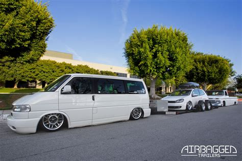 Airbagged Trailers : Remorque porte voiture sur coussin d'air L'ECLECTIC AUTO