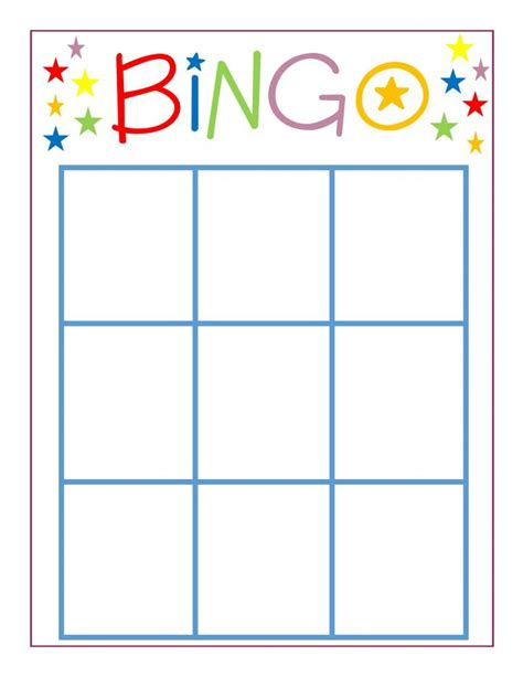 template for board cards family bingo dolen diaries