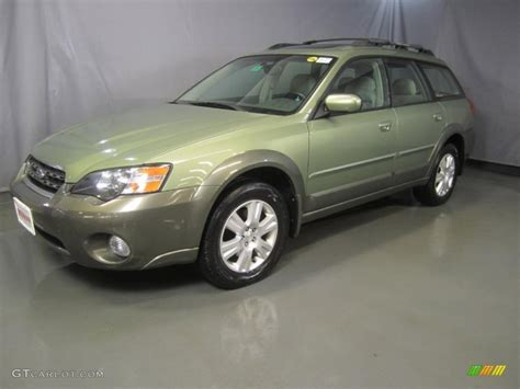 outback subaru green 2005 willow green opal subaru outback 2 5i limited wagon