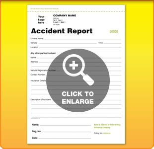 crash card template vehicle service report forms ncr templates new used