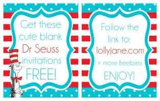 Dr Seuss Invitation Template by Printable Dr Seuss Quotes Templates Quotesgram