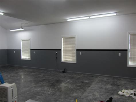paint colors for garage walls the turbo garage diy vinyl wall stripe install and how