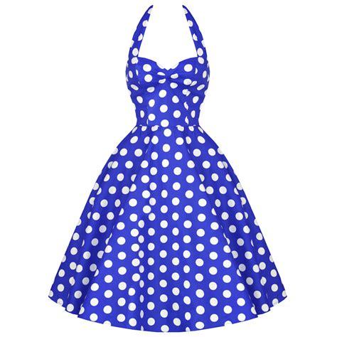 50s polka dot swing dress hell bunny meriam blue polka dot retro 50s rockabilly pin