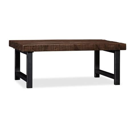 Pottery Barn Griffin Dining Table Griffin Reclaimed Wood Coffee Table Pottery Barn
