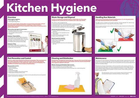 Kitchen Equipment Hygiene Kitchen Hygiene Poster Photographic Seton Uk