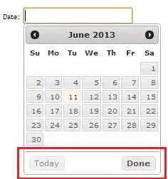 asp net mvc 4 jquery datepicker date format validation asp net mvc 4 the top of jquery datepicker is not