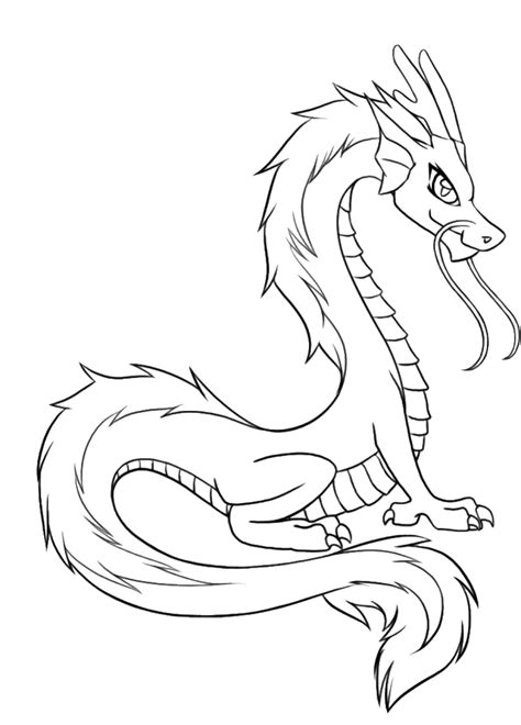 free coloring pages of chinese dragons