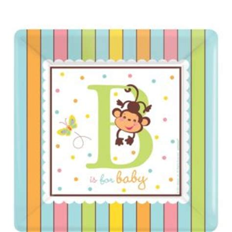 City Baby Shower Plates by Fisher Price Abc Baby Shower Dessert Plates 18ct City
